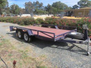 car trailer hire Baldivis and Rockingham